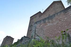 Burg Trifels bei Annweiler, Pfälzerwald (Pfalz)
